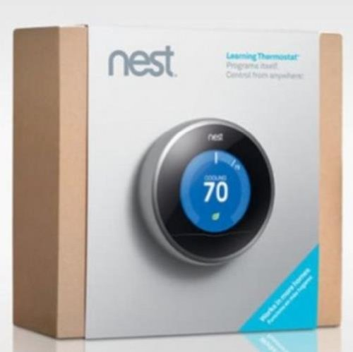 Programmable - Nest thermostat stylish home temperature control ...