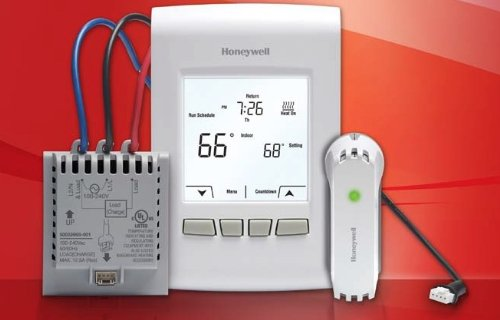 Easy Honeywell Econnect Wireless Line Voltage Thermostat For Electric Heat System